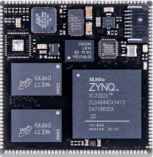 SQM4-ZY7 system on module